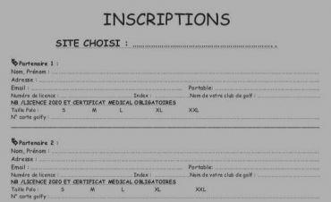Le formulaire d'inscription est en ligne